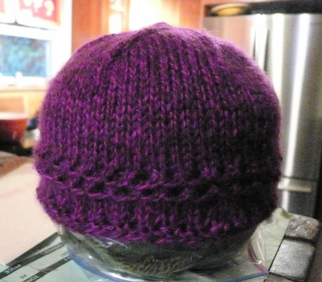 Easy Hat Knitting Pattern In The Round : Quick and Easy Baby Hat (Now in the Round!) - Deep Roots Dance