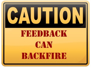 Feedback Caution