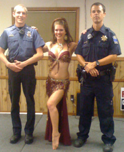 "On ""the Bellydance Police"""