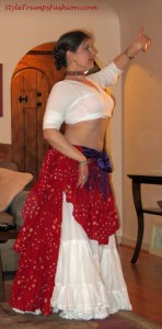 Bellydance Student of Deep Roots Dance Belly Dance